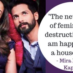 Here's why Mira Rajput Kapoor's take on feminism has created a hullabaloo