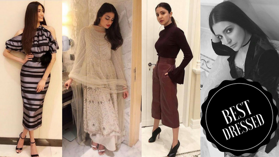#BestDressed: The spotlight shines on Athiya Shetty and Anushka Sharma