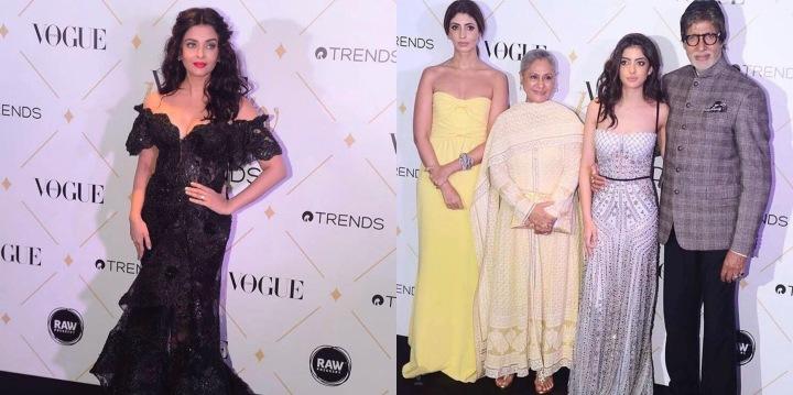 #BestDressed: Aishwarya Rai Bachchan and Navya Naveli Nanda steal the limelight at the Vogue BeautyAwards