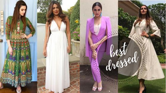 #BestDressed: Kriti, Priyanka, Huma and Neha: B-town ladies in a battle between white andcolour
