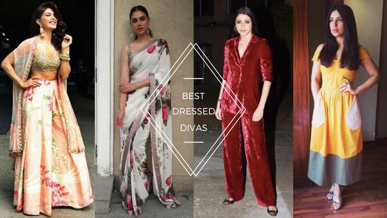#BestDressed: Jacqueline, Aditi, Anushka and Bhumi win the fashionrace