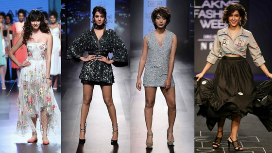 Disha Patani and Sonal Chauhan stun; Sayani Gupta and Sanya Malhotra follow on Day 1 of the Lakme fashionWeek