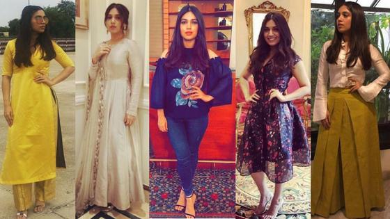 Decoding Bhumi Pednekar's promotional fashiongame
