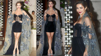 Malaika Arora Khan in Manish Malhotra