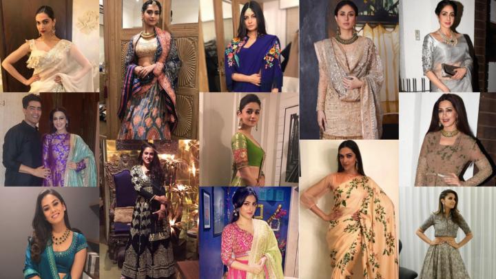 Manish Malhotra, Tarun Tahiliani, AJSK, Sabyasachi work wonders on B-towndivas