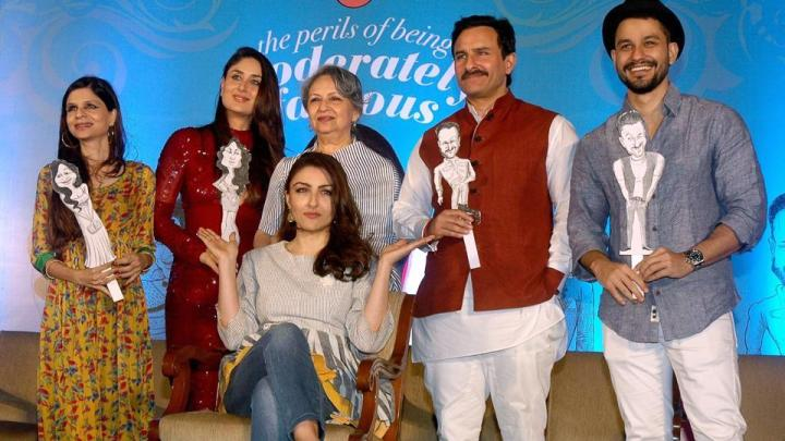 Saif Ali Khan spills beans on Soha Ali Khan's embarrassing date once upon atime