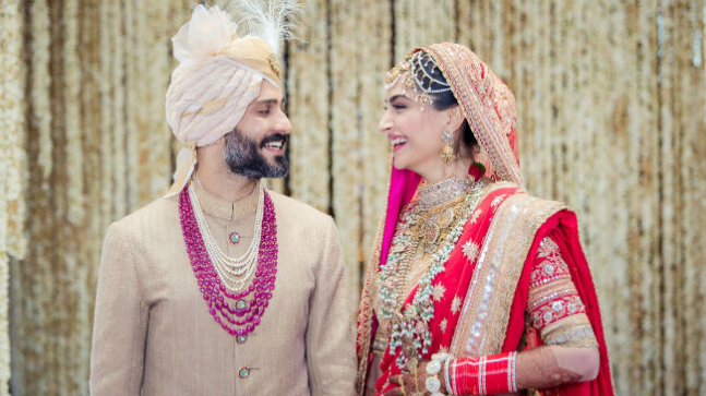 Anand Ahuja slaps patriarchy in the face, adds  Sonam Kapoor's 'S' to hisname