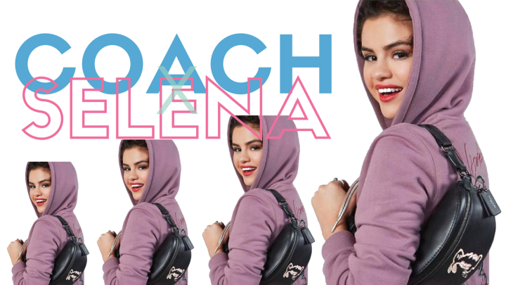 Take away our credit cards because Selena Gomez's Coach collection is here!