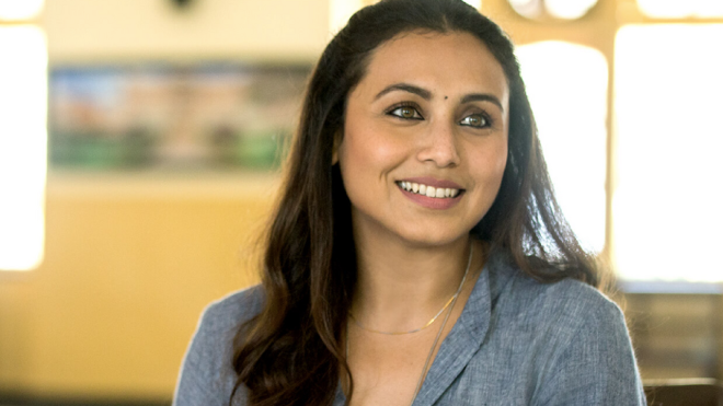 Rani Mukerji_ Adira's only entitlement today is that she has famous parents