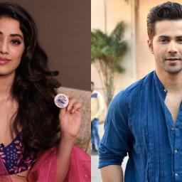 Janhvi Kapoor in Varun Dhawan's next?