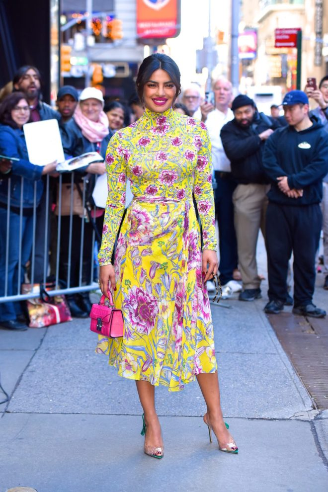 Celebrity Sightings in New York City - April 26, 2018