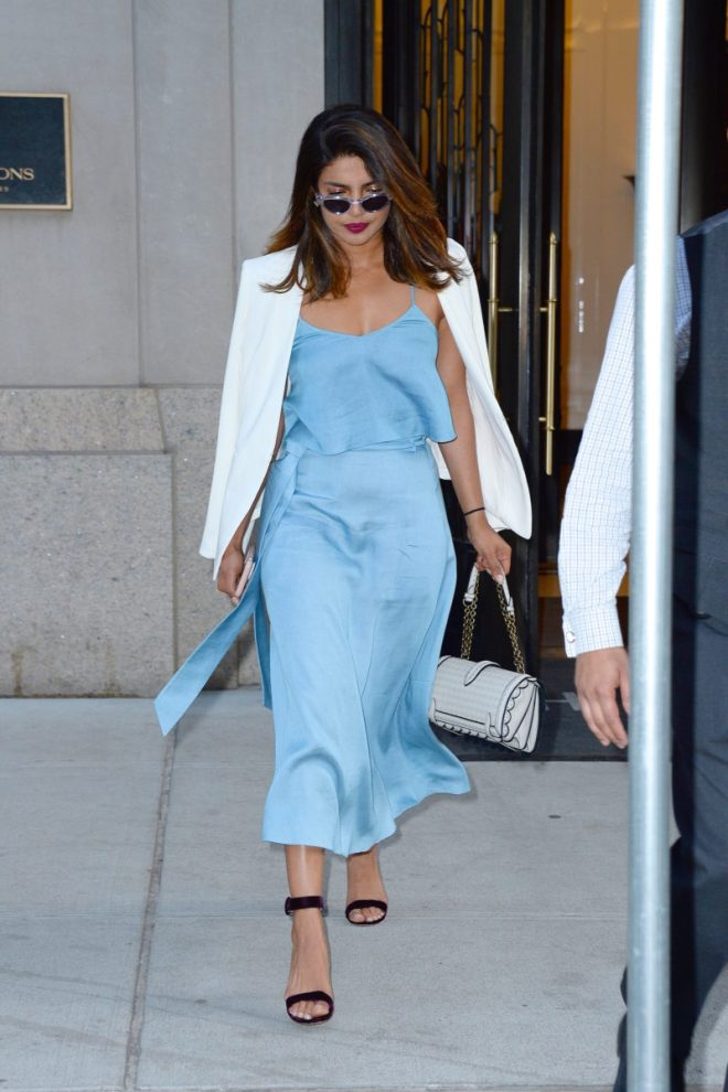 Celebrity Sightings in New York City - June 12, 2018