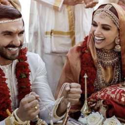 The first pictures from #DeepVeerKiShaadi are here and she's truly Padmavati