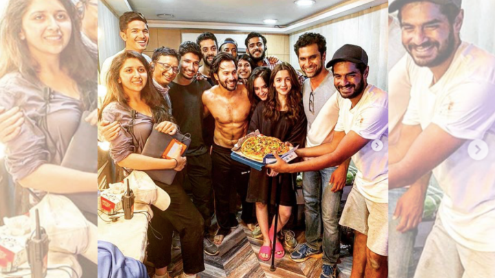 It's a wrap for Kalank, but not without this special surprise for VarunDhawan