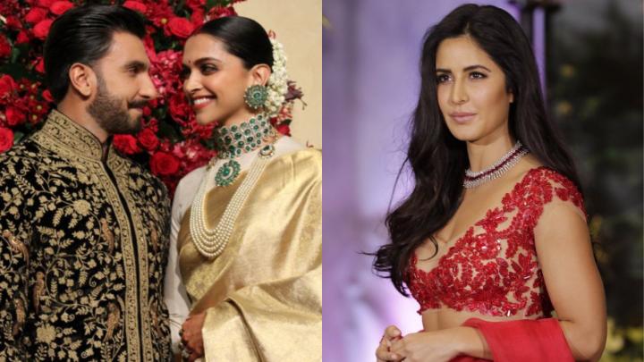 Ranveer Singh drops a text to Katrina Kaif ahead of his weddingreception