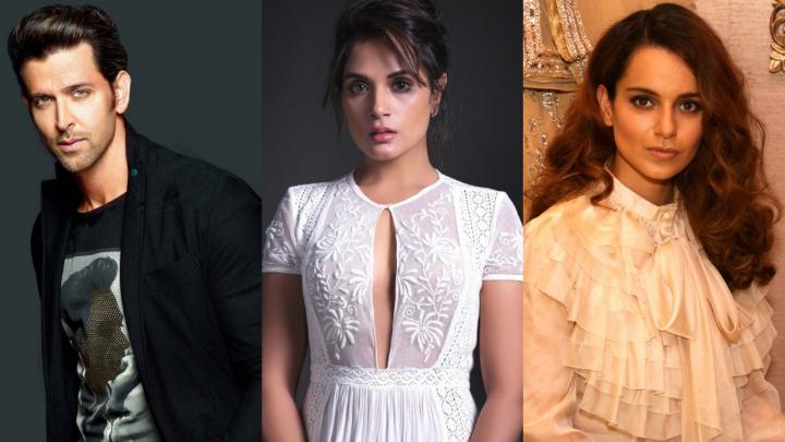 Richa Chadha gets caught between Hrithik Roshan and KanganaRanaut