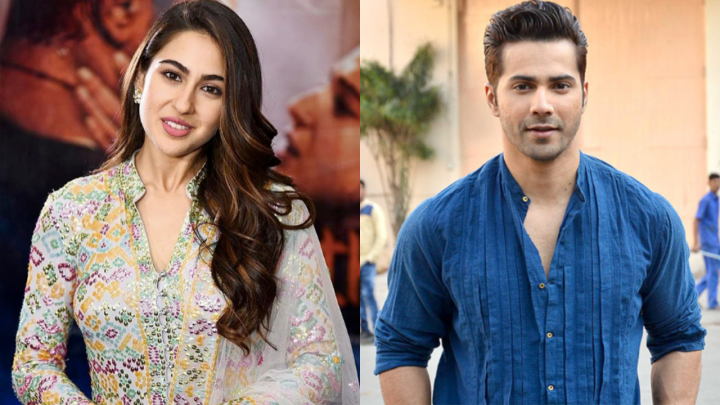 CONFIRMED: Sara Ali Khan and Varun Dhawan in the remake of Coolie No. 1