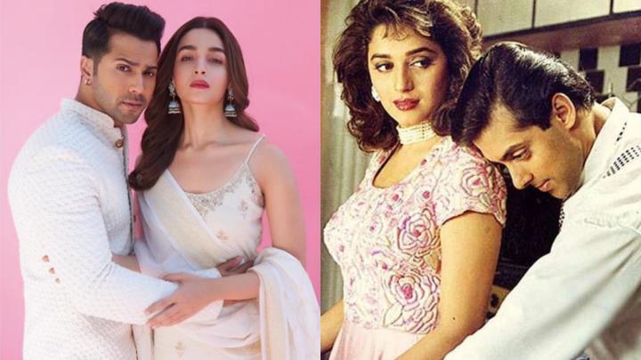 Madhuri Dixit wants Alia Bhatt & Varun Dhawan to play the leads in the remake of Hum Aapke HainKaun