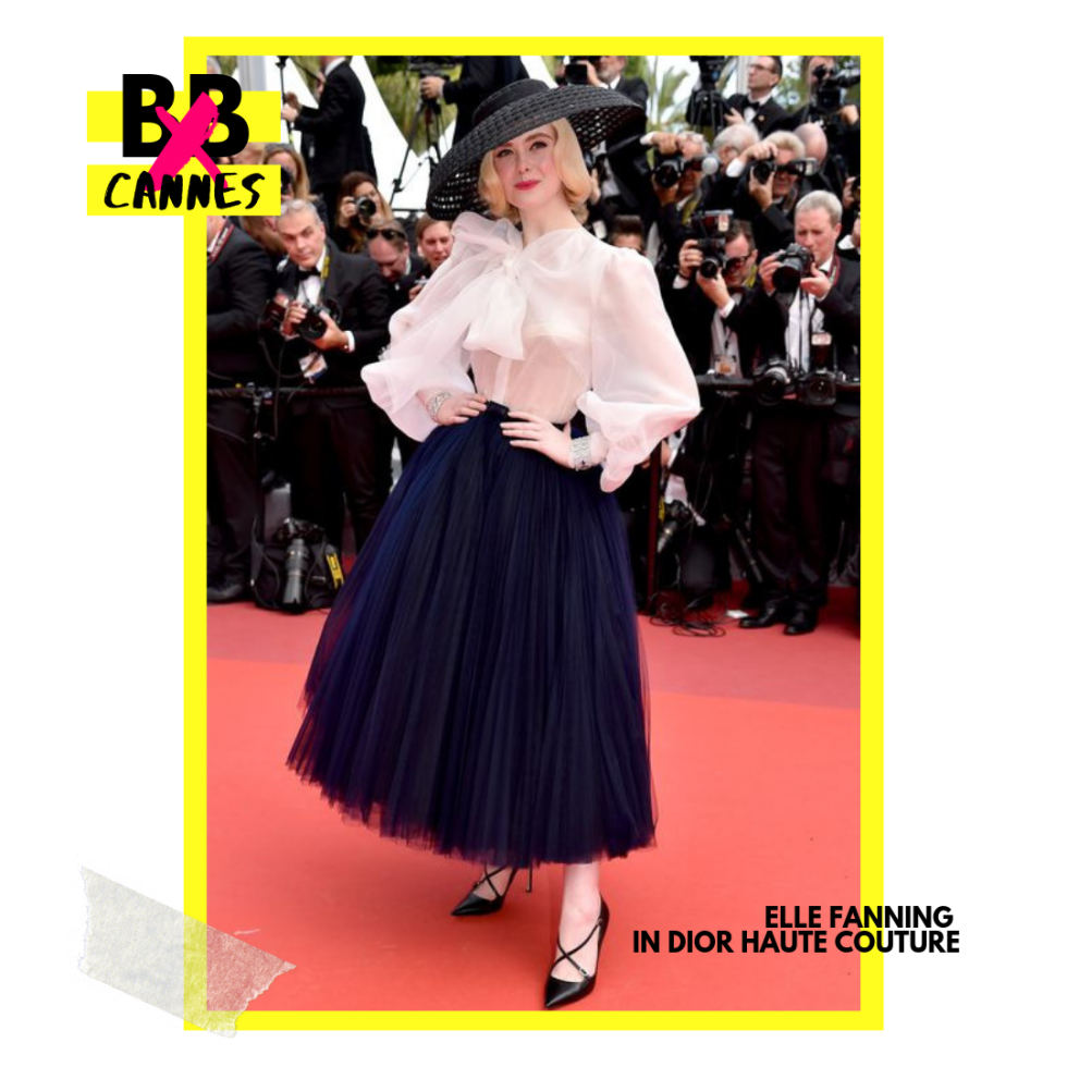 Elle Fanning in Dior Haute Couture