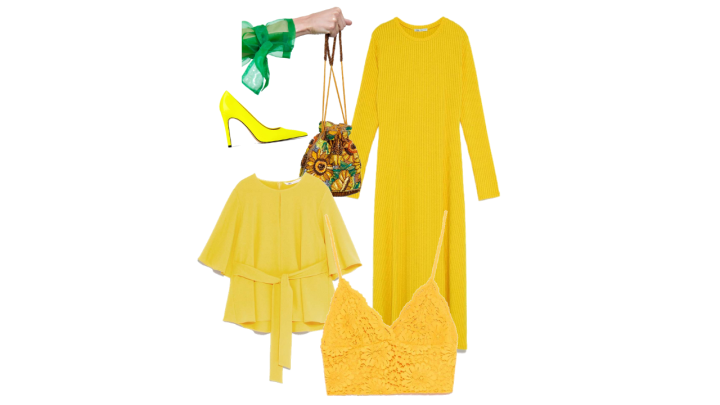 Go mellow with yellow with Zara