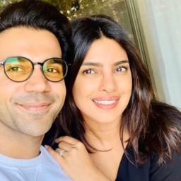 Rajkummar Rao shares a selfie with his next co-star, Priyanka Chopra Jonas