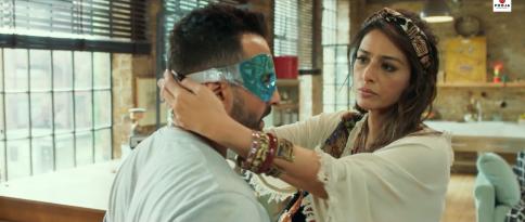 Tabu & Saif Ali Khan in a still from the film