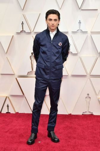 Timothée Chalamet in Prada