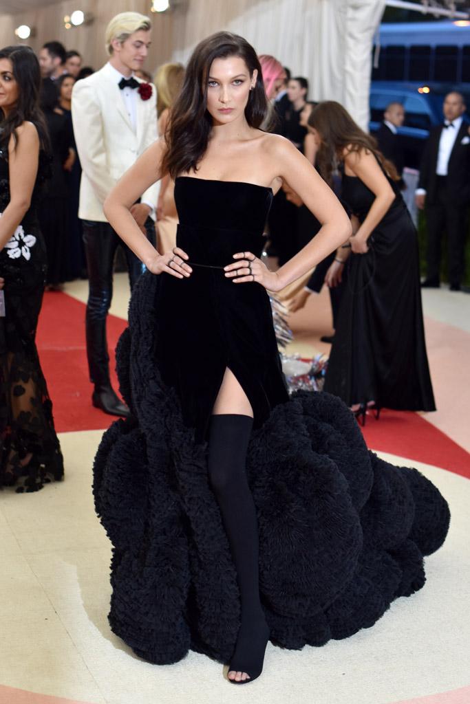 Bella Hadid in Givenchy 2016