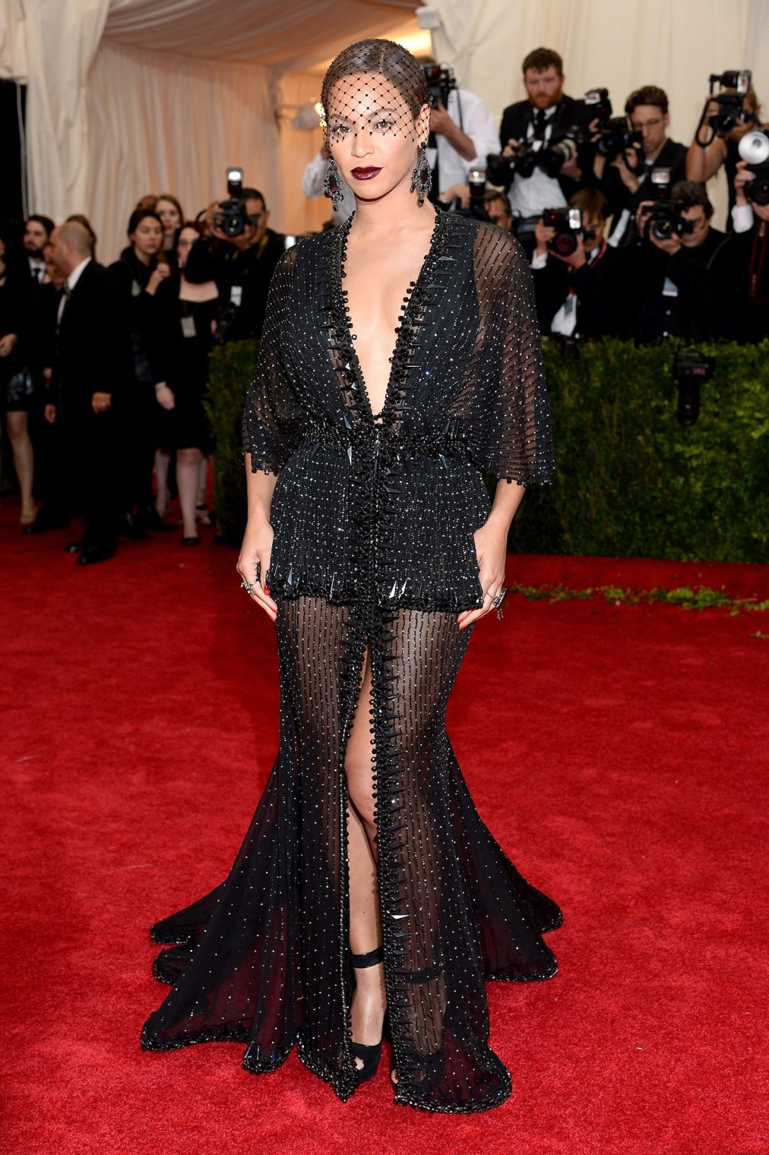 Beyoncé in Givenchy Haute Couture 2014