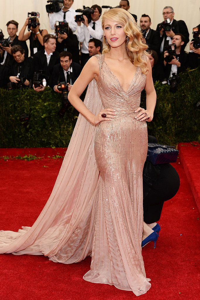 Blake Lively in Gucci 2014