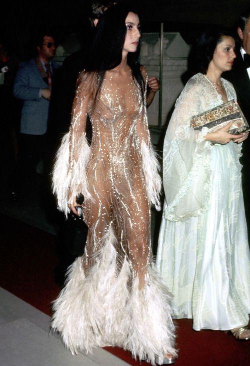 Cher in Bob Mackie 1974