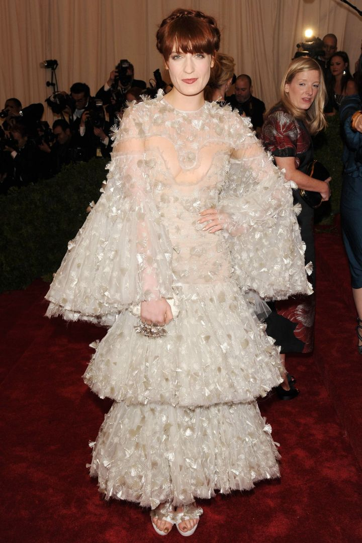 Florence Welch in Alexander McQueen 2012