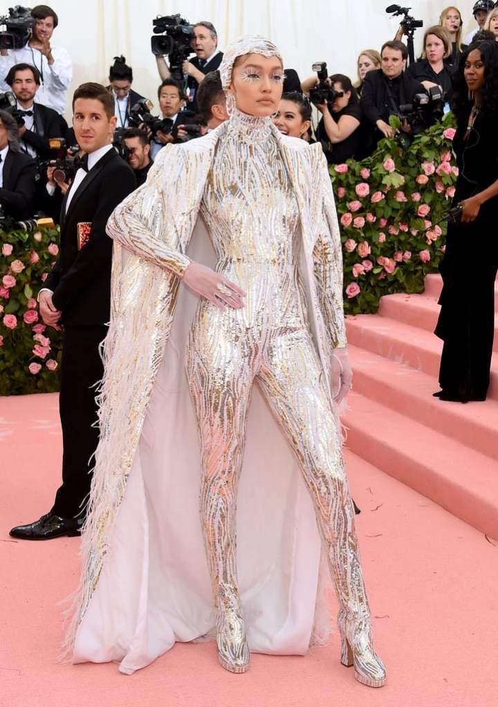 Gigi Hadid in custom Michael Kors