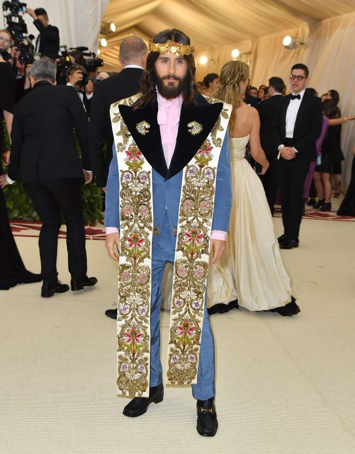 Jared Leto in Gucci 2018