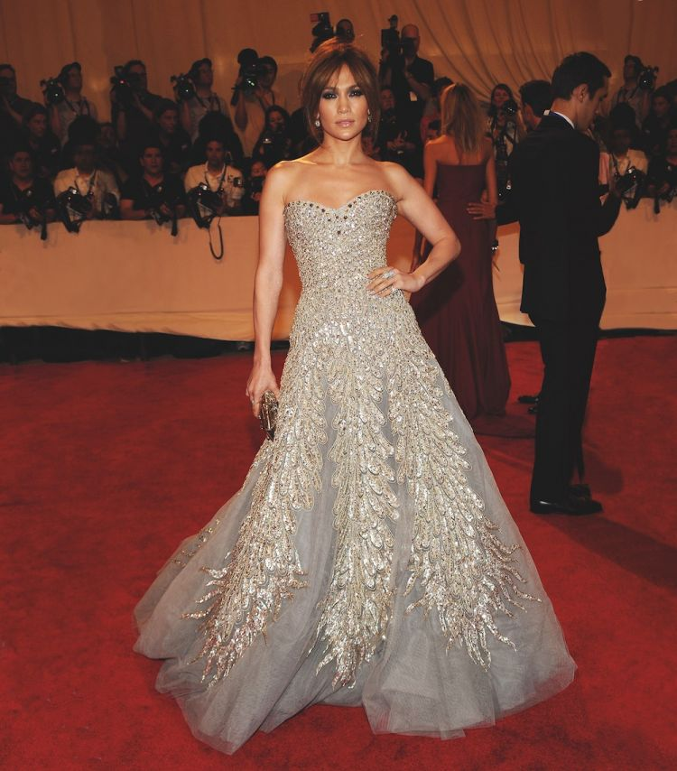 Jennifer Lopez in Zuhair Murad 2010