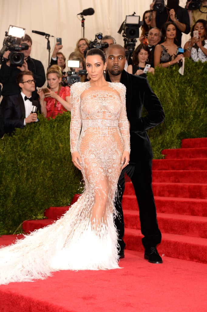 Kim Kardashian in Roberto Cavalli 2015