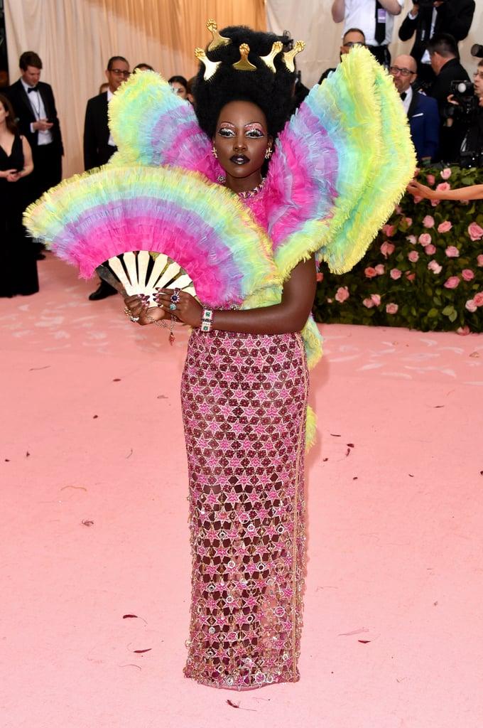 Lupita Nyong'o in custom Versace