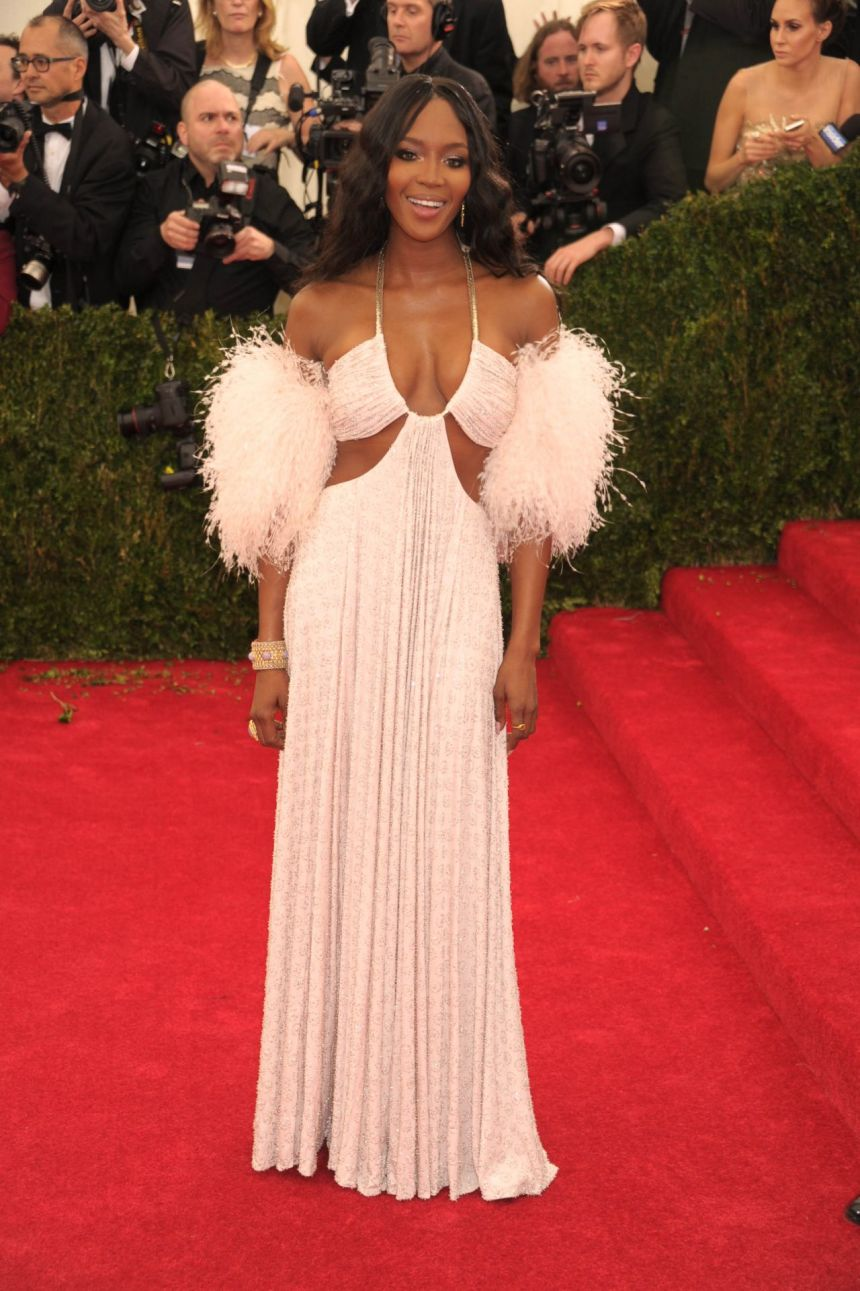 Naomi Campbell in Givenchy Couture 2014