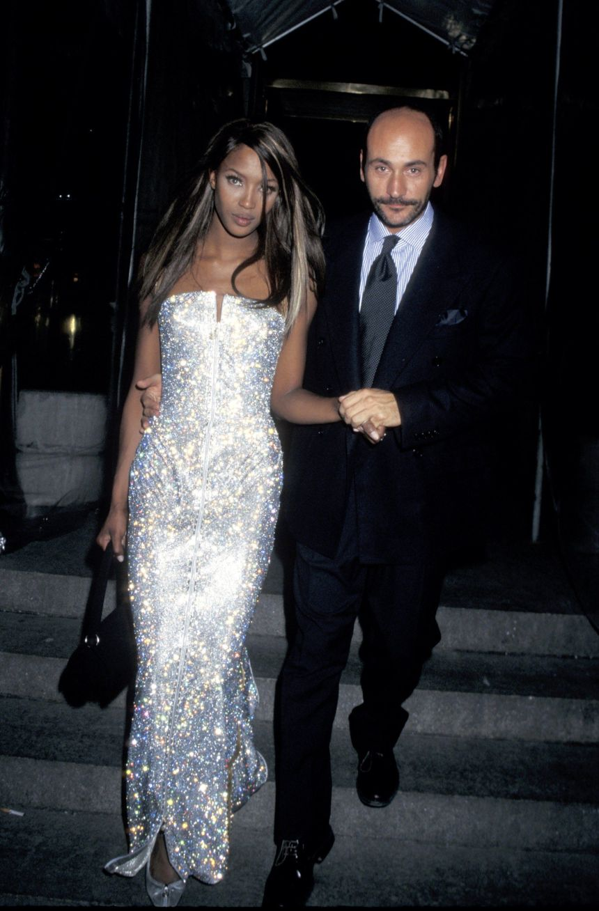 Naomi Campbell in Versace 1995