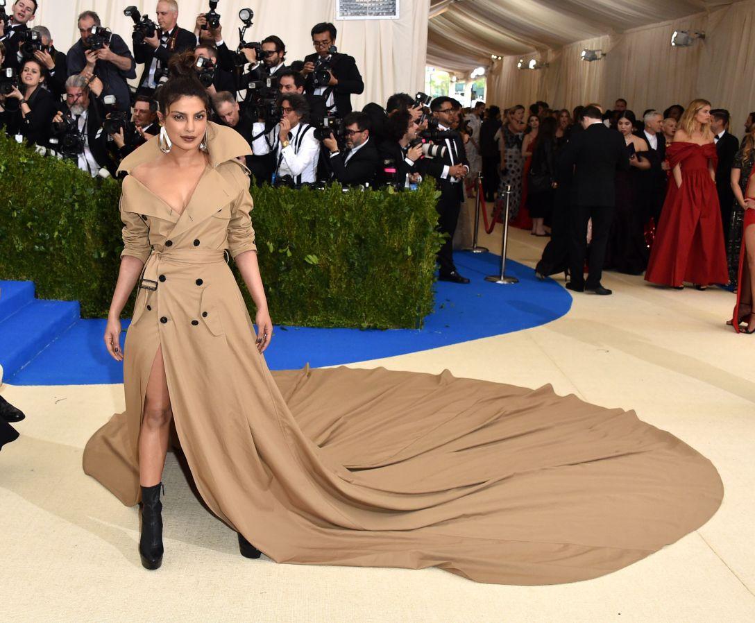 Priyanka Chopra in custom Ralph Lauren 2017