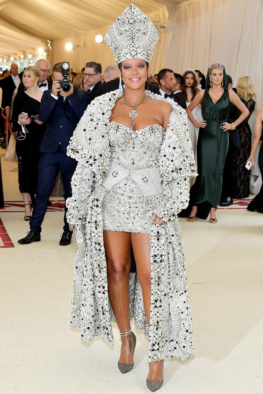 Rihanna in Maison Margiela 2018