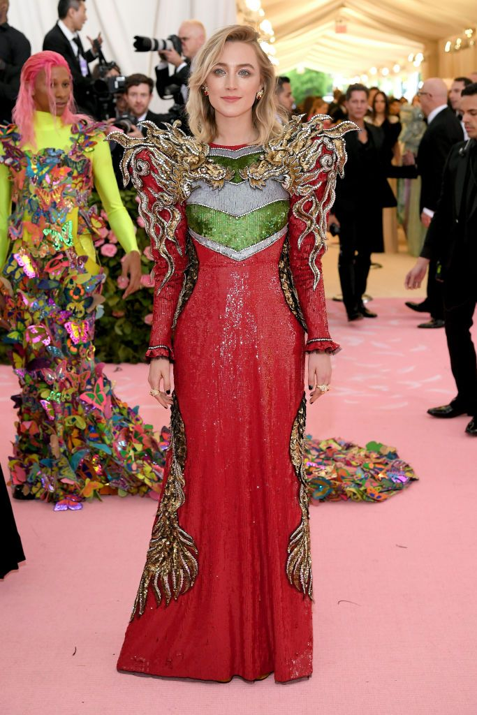 Saoirse Ronan in Gucci