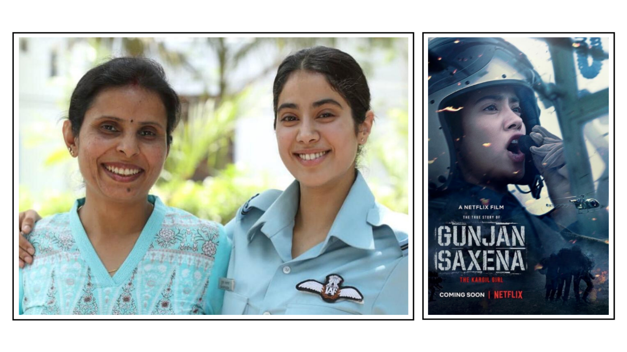 Dharma Productions Announces The Release Of Janhvi Kapoor S Gunjan Saxena On Netflix Bombay Balloon