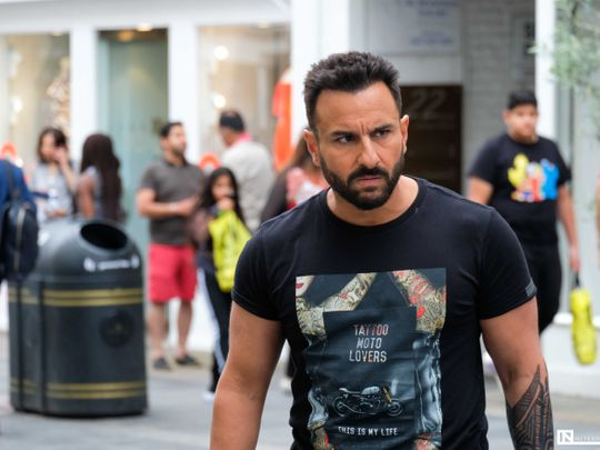 Saif Ali Khan in Jawaani Jaaneman