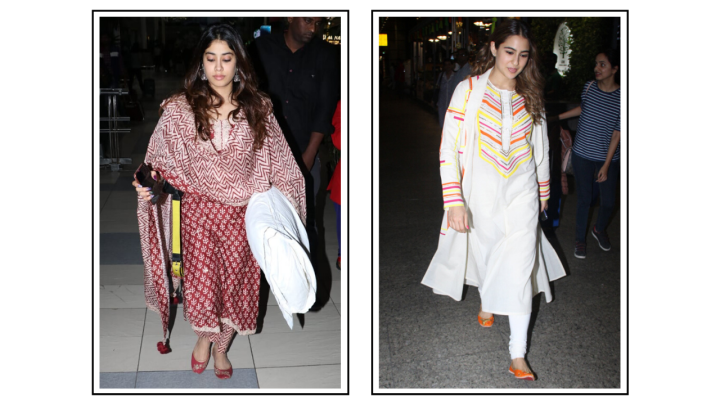6 must-have kurta sets from Janhvi Kapoor and Sara Ali Khan's wardrobe