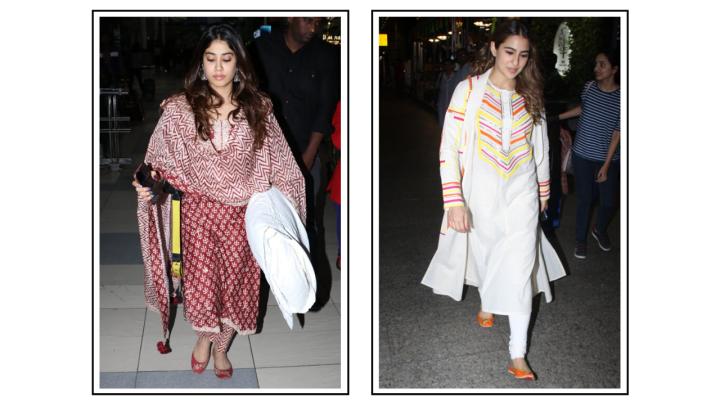 6 must-have kurta sets from Janhvi Kapoor and Sara Ali Khan'swardrobe