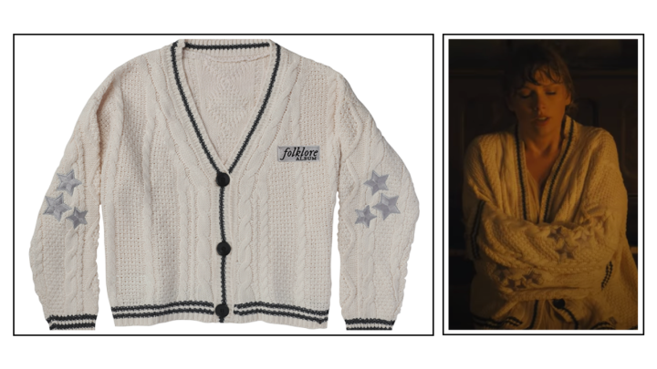 Buy Taylor Swift's cardigan from Cardigan for Rs 3667 here!
