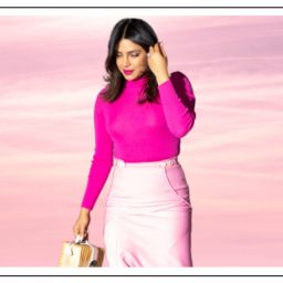 Colour your sky pink with Priyanka Chopra Jonas' pink ensemble
