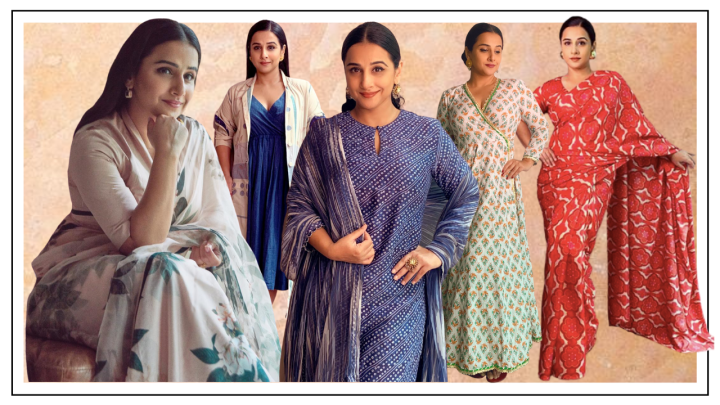 How Vidya Balan pulled off 31 #VocalForLocal looks for Shakuntala Devi promotions