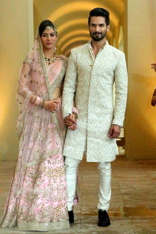 Mira Rajput Kapoor and Shahid Kapoor 1